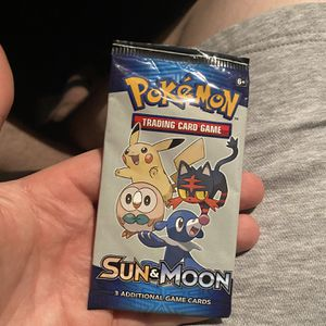 Unopened Pokemon Promo Sun&moon Pack +3 Cards for Sale in Lynnwood, WA