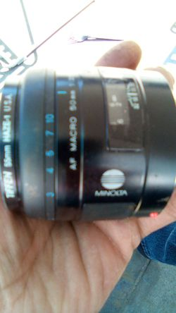 Minolta after ma to 50mm lens withfilter $_40 for Sale in Tempe,  AZ