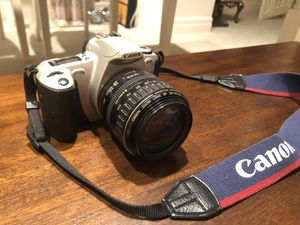 Canon EOS Rebel 2000 35mm Film SLR Camera Kit with 28-105mm Lens for Sale in Newcastle, WA