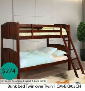 Bunk bed twin over twin for Sale in La Mirada, CA
