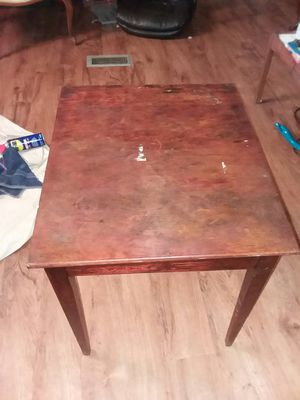 antique cherrywood lamp table for Sale in Gaston, SC