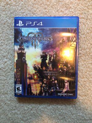 Kingdom Hearts 4 - PS4 for Sale in Auburn, WA