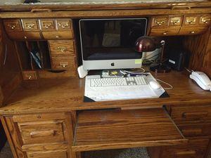 Beautiful Oak Roll Top Desk for Sale in Tulsa, OK