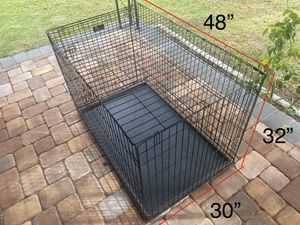 Pop Up Kennel Cage Crate XL for Sale in Tampa, FL