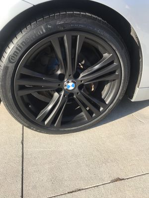 Get Your RIMS wrapped black today!!! for Sale in Round Rock, TX