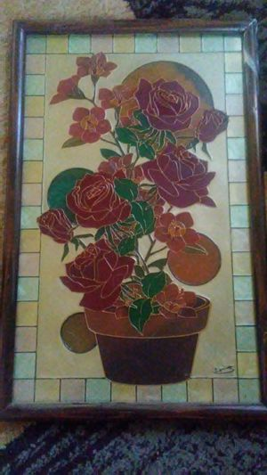 Stained glass picture for Sale in Dixon, MO