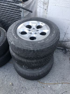 Rims and tires for Jeep Wrangler for Sale in Miami, FL