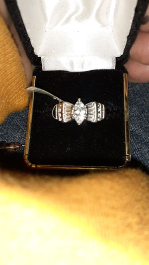 14k white gold marquise diamond ring. Price tag still attached reads; $3,300.00 for Sale in Oakland, CA