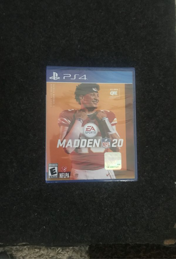 Madden 20 for PS4 price drop***video game plug🔌🔌🔌***
