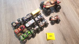 Monster jam trucks truck collection with ramp! for Sale in Seminole, FL