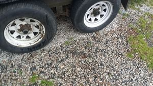 Trailer tires 4 $60 each obo. for Sale in North Chesterfield, VA