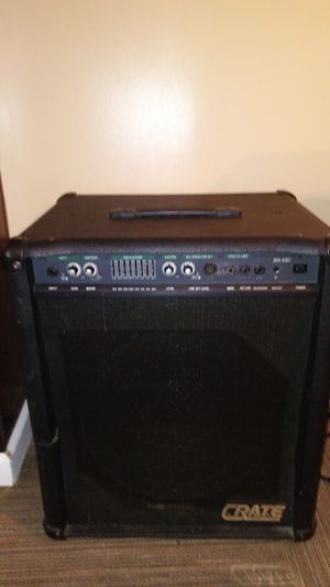 Crate Bx100 Amplifier for Sale in Cleveland, OH