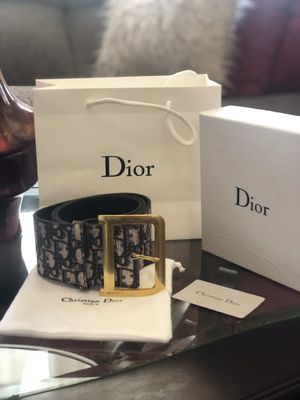 Wide Dior Belt, Size 44 inches for Sale in Chicago, IL