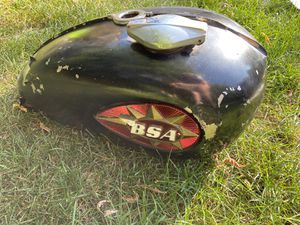 Vintage BSA Classic Motorcycle Gas Fuel Tank for Sale in Hastings, MN
