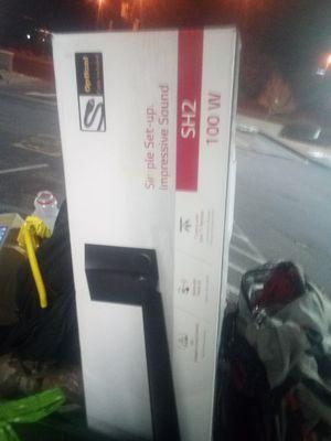 Lg 100 w subwoofer and sound bar for Sale in Denver, CO