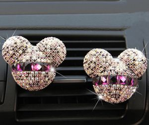 2pcs bear bling car accessories for Sale in Katy, TX