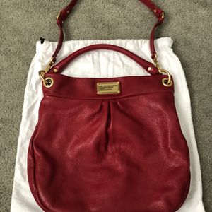 Marc Jacobs Red Leather Hillier Hobo Bag for Sale in Philadelphia, PA