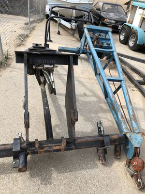Trust Booms - with hydraulic winches for Sale in Bakersfield, CA