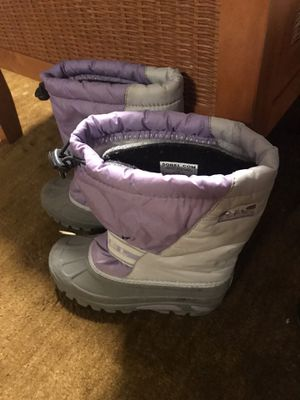 Girl Sorel snow/rain boots (sz3) for Sale in Puyallup, WA