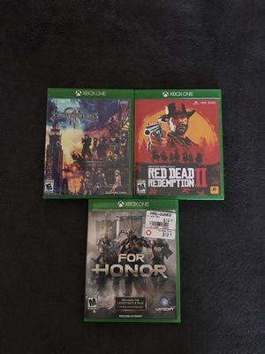 Xbox One game bundle for Sale in Chandler, AZ