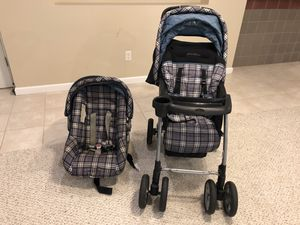 Eddie Bauer infant toddler car seat and stroller for Sale in Wildwood, MO
