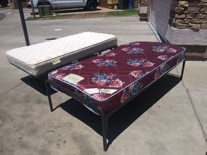 Twin beds in very good condition very clean mattresses for Sale in Phoenix, AZ