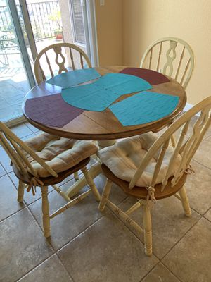 Vintage kitchen table with chairs. for Sale in San Leandro, CA