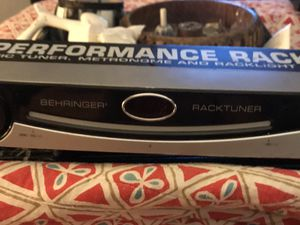 Behringer BTR 2000 rack tuner for Sale in Dallas, TX