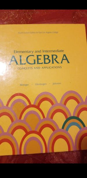 ELAC Math Book. for Sale in Commerce, CA
