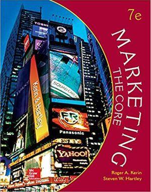 Marketing The Core (Irwin Marketing) 7th Edition ebook PDF for Sale in Los Angeles, CA