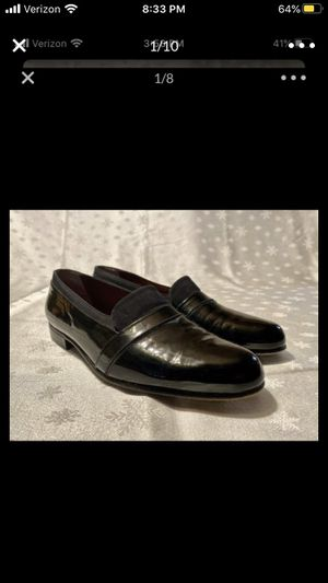 Bally size 9 dress shoes black for Sale in Boston, MA
