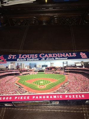 NIB PANORAMIC PUZZLE ST. LOUIS CARDINALS 1000 PIECES for Sale in Wichita, KS