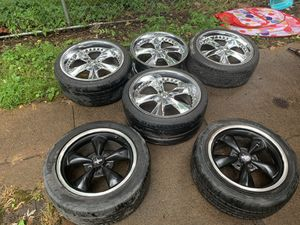 """20"""" Staggered Foose Rims for Sale in St. Louis, MO"""