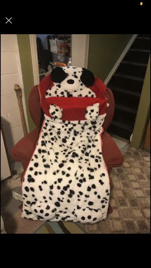 Dalmatian Sleeping Bag Excellent Condition for Sale in Taylor, MI