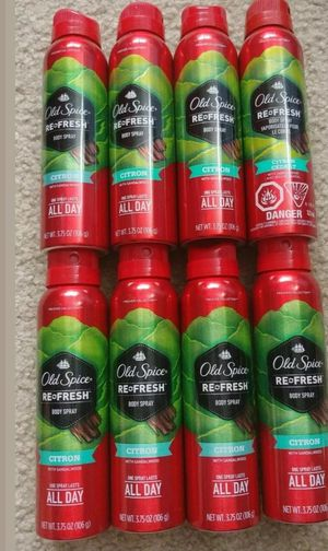 Old spice Citron body sprays for Sale in Longmont, CO