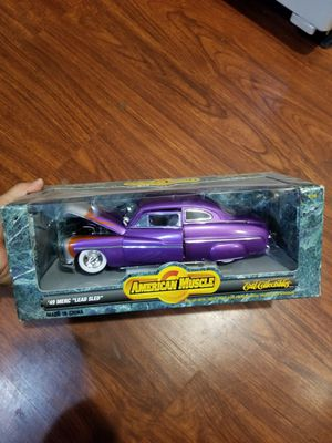 """American Muscle 49"""" Merc """"Lead Sled"""", Die Cast, 1:18, Toys, Collectable, Lowrider, Lowrider Toys, Vintage Toys for Sale in Cornelius, OR"""