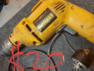 """DeWalt corded 3/8"""" VSR Drill CHEAP! for Sale in Phoenix, AZ"""