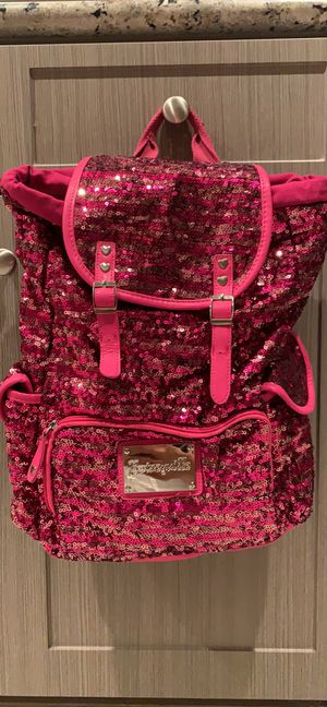 Hot pink Betsyville sequin backpack for Sale in Chula Vista, CA