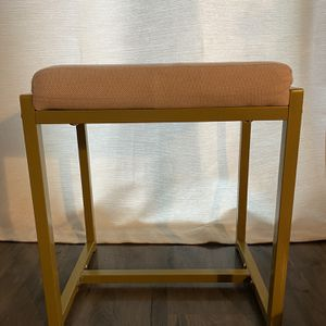 Small Cushioned Makeup Stool for Sale in Alexandria, VA