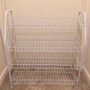 ClosetMaid 4-Tier Wire Shoe Rack for Sale in Woodbridge, VA