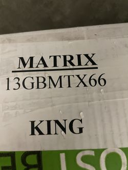 GhostBed 3D Matrix King Mattress for Sale in Garden Grove, CA