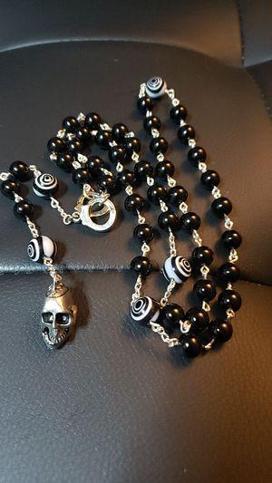Rosary Style Necklace (handmade) for Sale in Menifee, CA