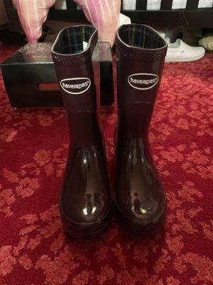 Havaianas rain boots for Sale in Santa Ana, CA