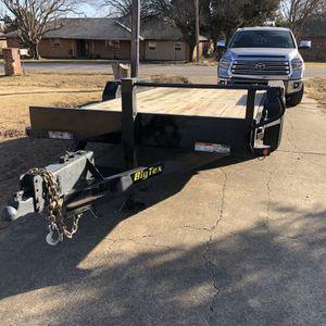 Heavy Duty Big Tex Trailer for Sale in Glenn Heights, TX