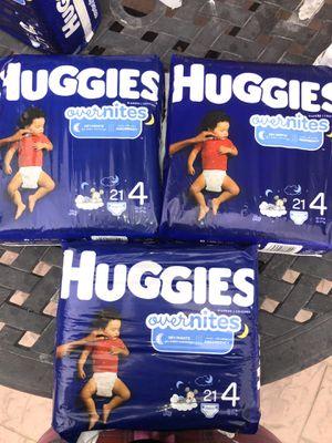 Huggies size 4 for Sale in Oceanside, CA