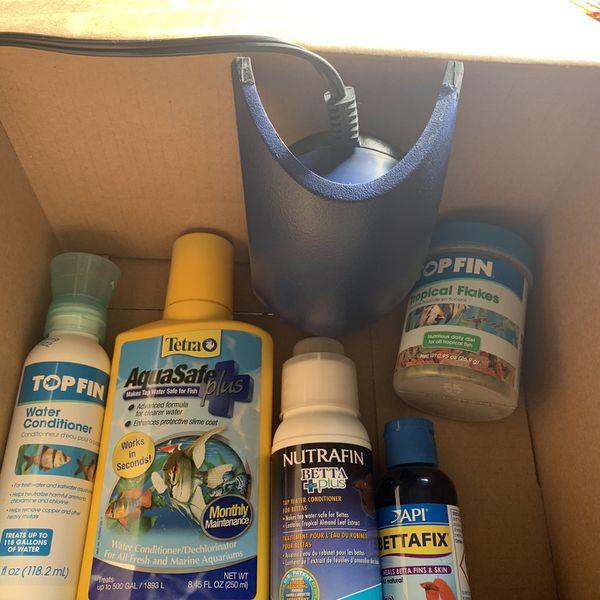 Fish Tank Supplies And Food