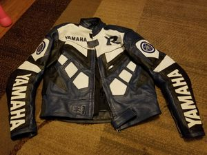 Motorcycle leather jacket XL Yamaha R , for Sale in Montebello, NY