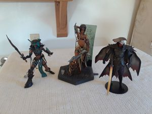 Lot of 3 McFarlane toys figures for Sale in Hughson, CA