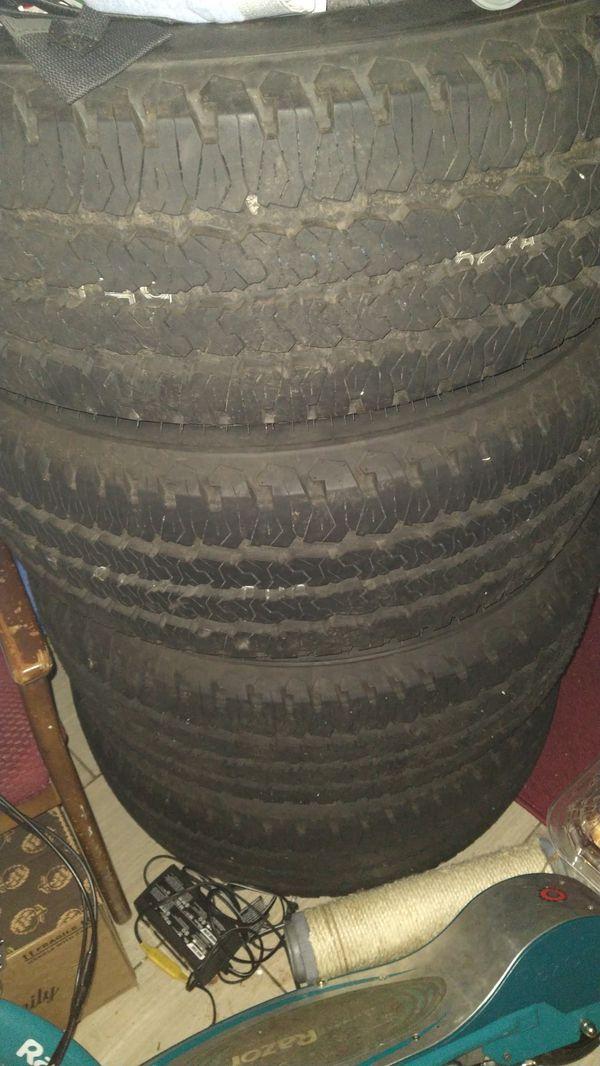 "20"" black dodge 8 lug rims and tires"