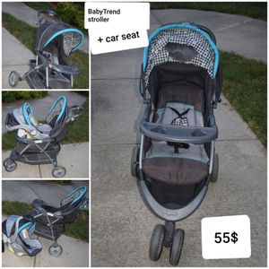 Infant stroller with car seat for Sale in Charlotte, NC